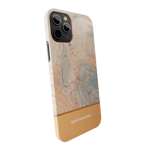 Mild Foam Marble Matte finished Name Printed Back Case Zozzlefield