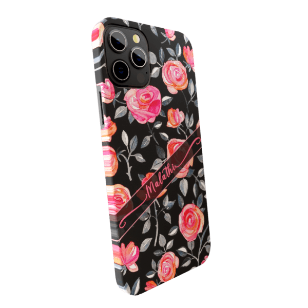 Rose Garden zozzlefield Matte finished Name Printed Back Case Zozzlefield