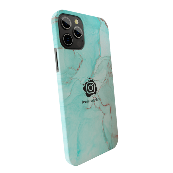 Splash Marble Insta ID Case | zozzlefield Matte finished Printed Back Case Zozzlefield
