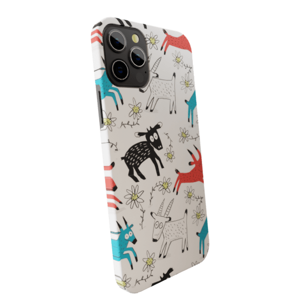Sticky Sheeps - Matte finished Trendy  Back Case Zozzlefield