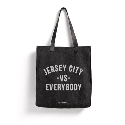"Grind "" Jersey City vs. Everybody "" Tote"