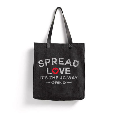 "Grind "" Spread Love "" Tote"