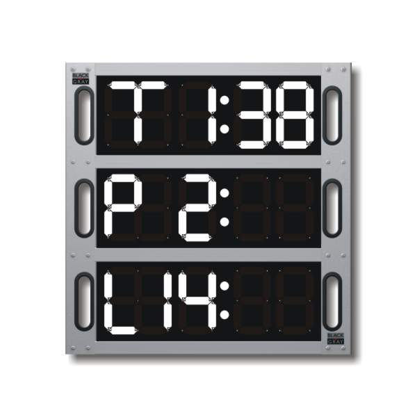 Pit Board: 3-Line Digital System – quick change display
