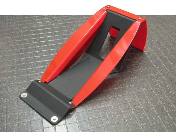Motorcycle Wheel Chock - durable powder-coated aluminum