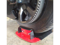 Rear Wheel Chock - for safe and easy bike transport