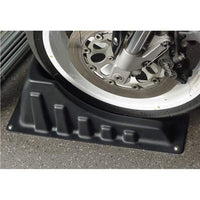 Wheel Chock for safe and secure motorcycle transport