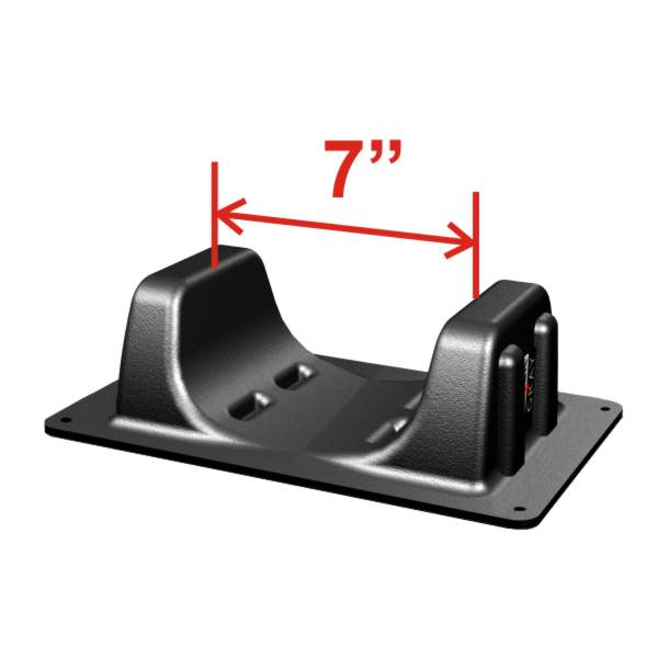 "Plastic Wheel Chock for Rear tires up to 7.5"" wide, including 140-170 size tires"