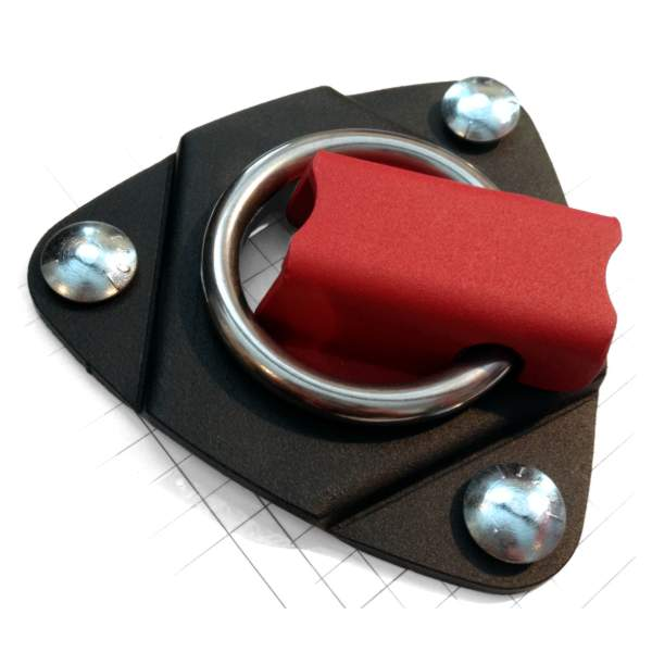 "Heavy-duty Tie-Down Anchor – 2"" rotating ring"
