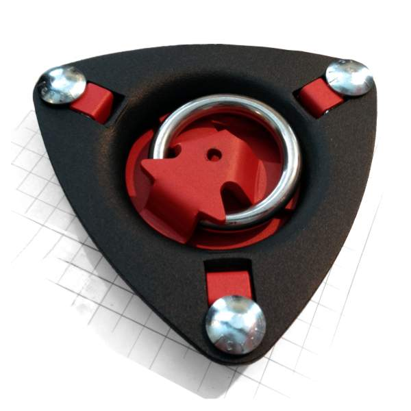 Heavy-duty rotating recessed Tie-Down Ring Anchor