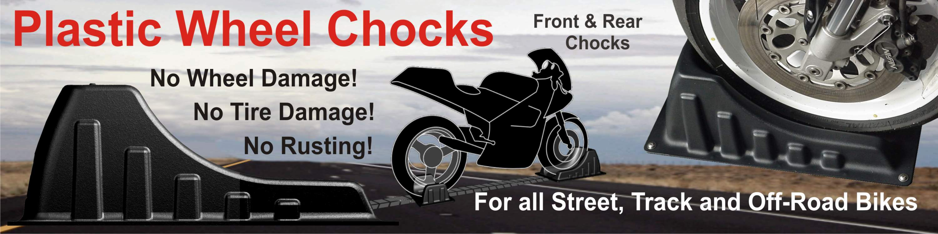 Motorcycle Wheel Chocks