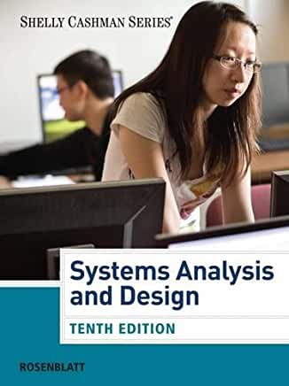 SYSTEMS ANALYSIS AND DESIGN BY ROSENBLATT WITH ACCESS - Flipthatbook
