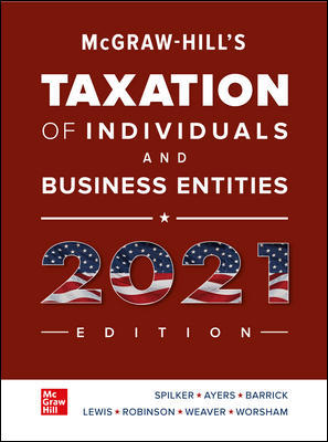 Taxation of Individuals and Business Entities 2021 by Spilker CONNECT/ETEXT - Flipthatbook