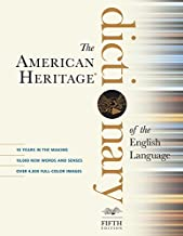 AMERICAN HERITAGE DICT. OF ENGLISH BY AMER. HERITAGE 5TH - Flipthatbook