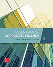 Essentials of Corp Finance LOOSE LEAF TEXT ONLY 10TH EDITION by Ross - Flipthatbook