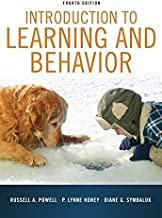 INTRO TO LEARNING AND BEHAVIOR TEXT ONLY OLD EDITION BY POWELL - Flipthatbook