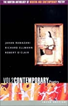 Norton Anthology of Modern and Contemporary Poetry VOLUME 2 by Ramazani - Flipthatbook