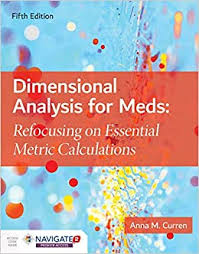 Dimensional Analysis for Meds by Curren WITH 365 ACCESS/ETEXT CODE - Flipthatbook