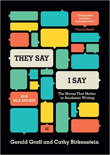 THEY SAY I SAY BY GRAFF - Flipthatbook