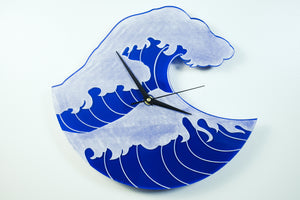 Japanese Wave Inspired Clock