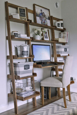 Ladder Desk/Bookshelf