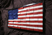 Load image into Gallery viewer, Wooden American Flag
