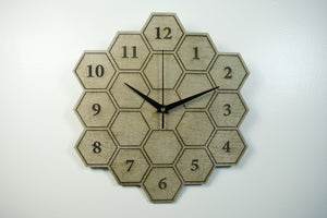 Honeycomb Tile Clock