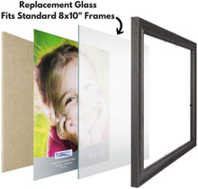 Load image into Gallery viewer, Icona Bay 8x10 Picture Frame Glass (2 Pack)