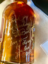 Load image into Gallery viewer, Hand Engraved Holiday Bottles