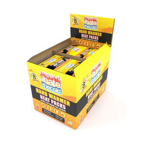 iHateTheCold 50 Pairs Disposable Hand Warmers - ihatethecold.com