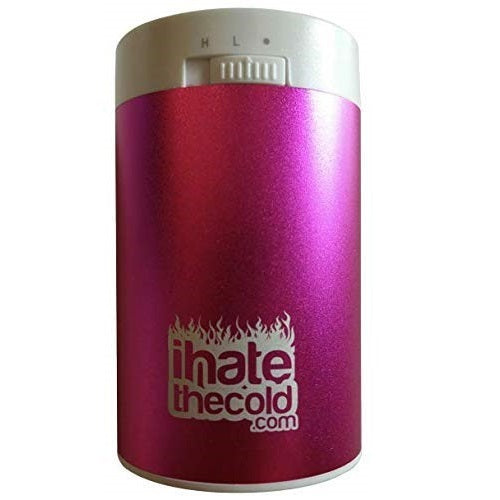 Maxi Pink 8800mAh USB Portable Hand Warmer - ihatethecold.com