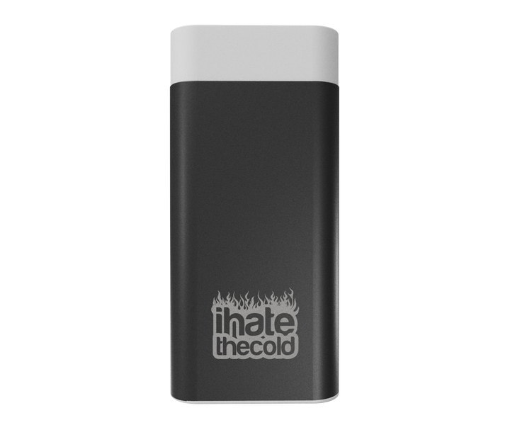 iHateTheCold Micro Hand Warmers - 2000mAh Power Bank Portable Charger (Black) - ihatethecold.com
