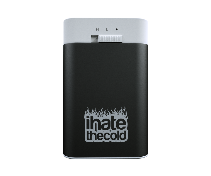 Rechargeable Reusable Mini Black 5200mAh USB Hand Warmer - ihatethecold.com