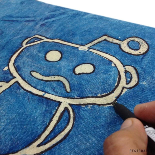outlining reddit snoo pillow cover