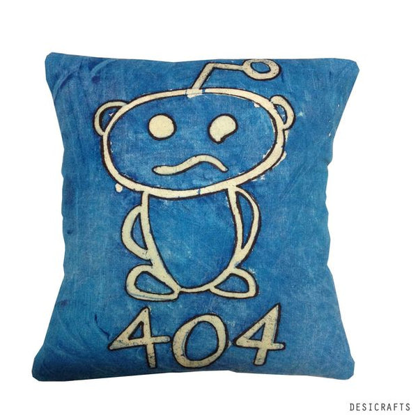 DIY reddit snoo pillow cover tutorial