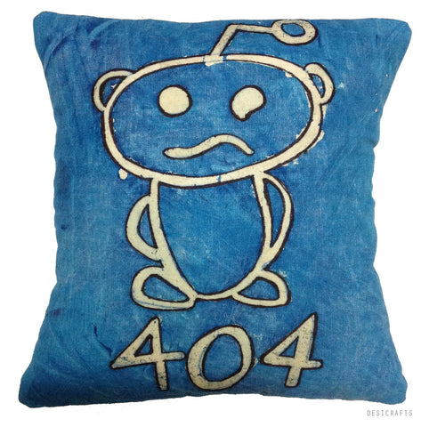 How to make Reddit 404 pillow cover at home