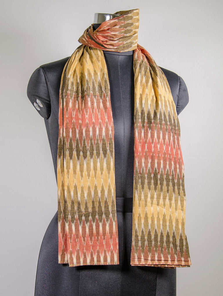 Ikat handloom Scarf by DesiCrafts