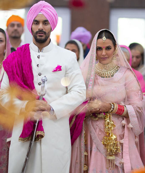 Neha Dhupia Wedding Photos