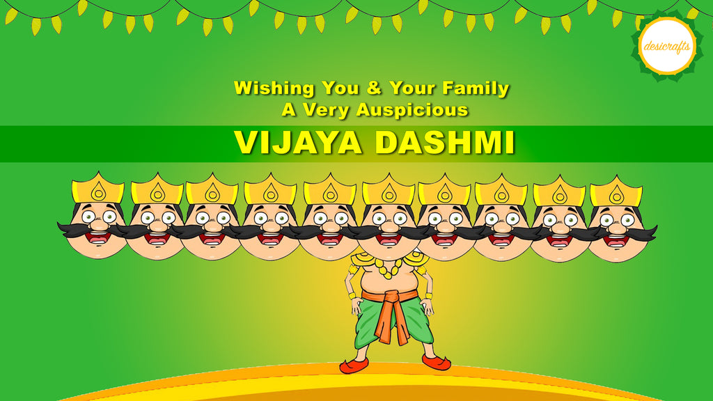 Happy Vijayadashmi from DesiCrafts