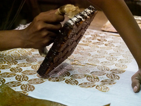 On demand Hand block printing at DesiCrafts