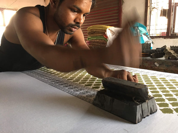Process of Hand Block Printing Explained By DesoCrafts