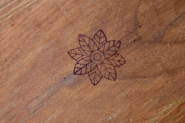 Drawing on inlay