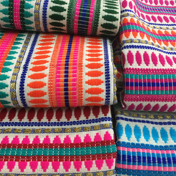 Colorful woven cotton heavy weight fabrics