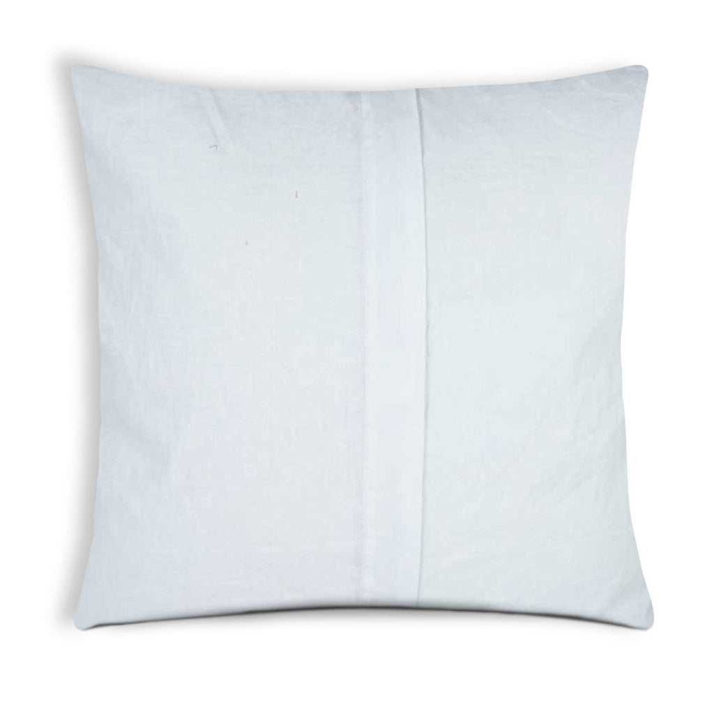 Sea green cotton pillow cover buy online from India