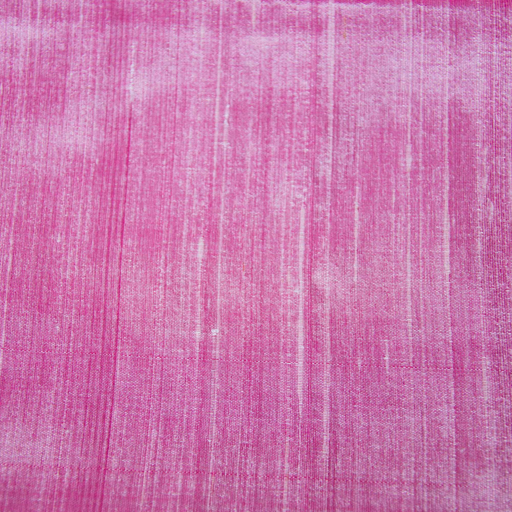 Baby pink pure raw silk fabric buy online from India