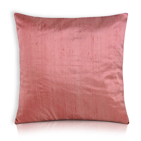 Blush Pink Silk Cushion Cover