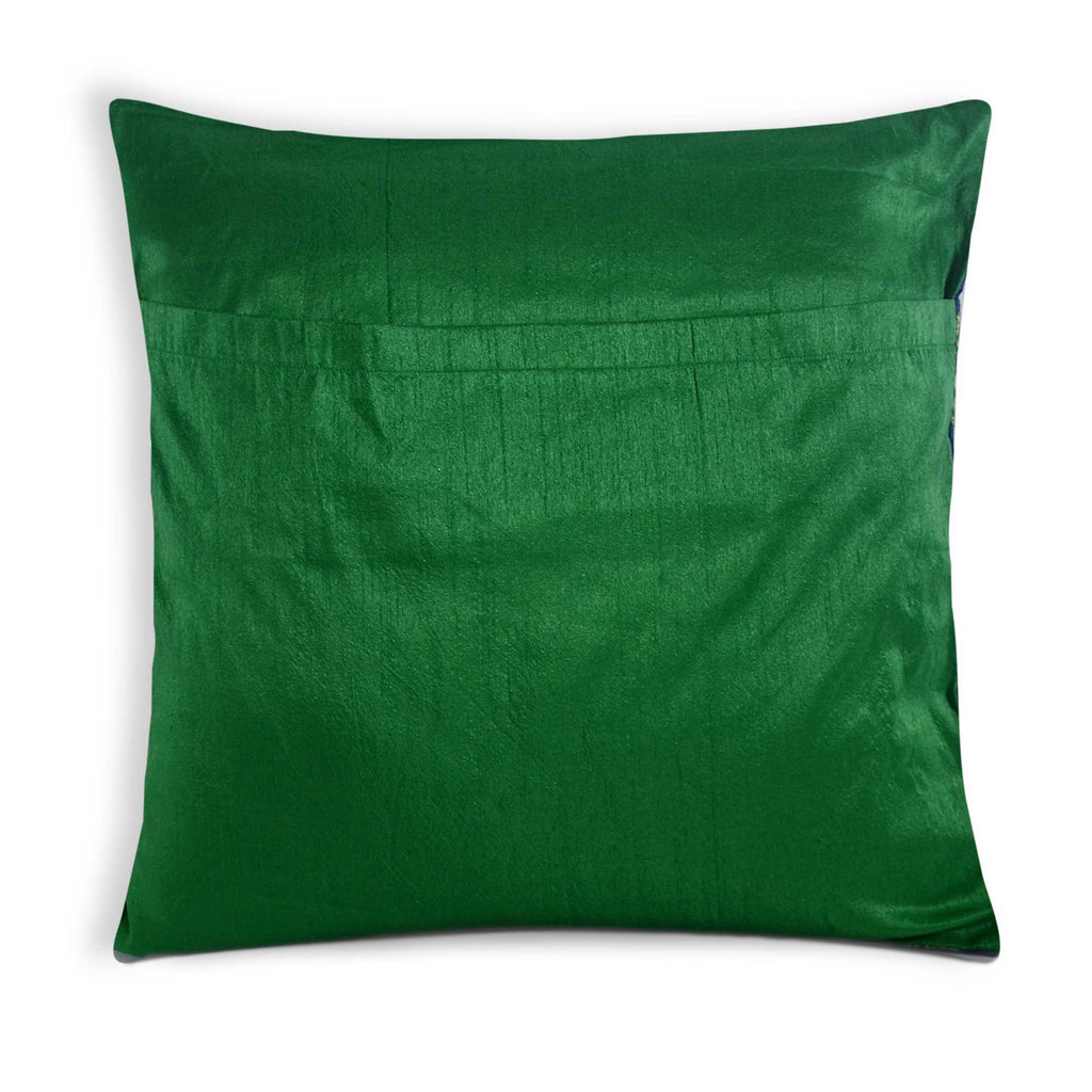 envelope style silk pillow cover