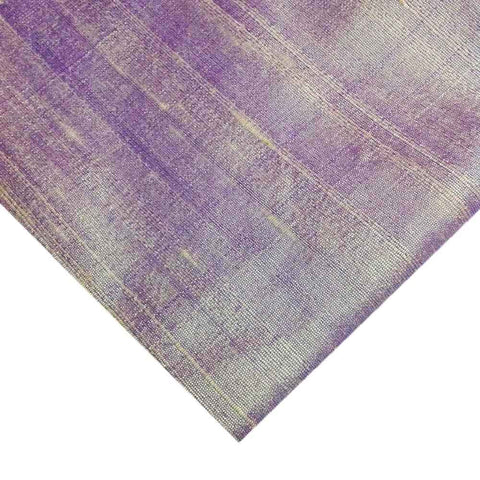 Mauve Dupioni - Pure Raw Silk Fabric
