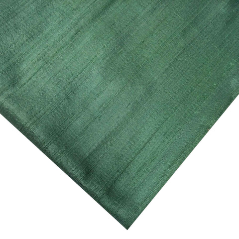 Mint Raw Silk Fabric From DesiCrafts