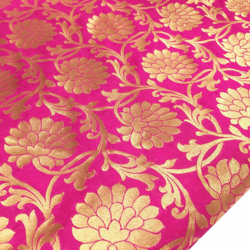 Brocade fabric for dresses and upholstery
