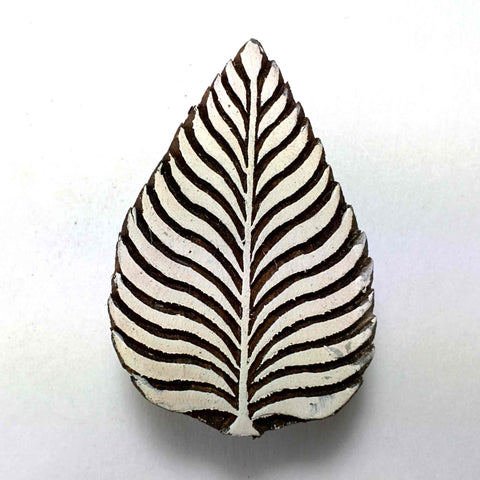 Leaf Stamp for Block Printing